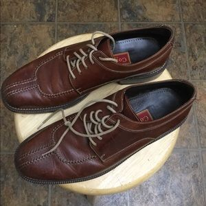 Cole Haan country men leather brown casual shoes
